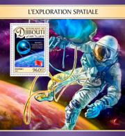 Djibouti  2016  Space Exploration, Sputnik 1 - Djibouti (1977-...)