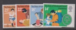 Great Britain SG 1162-1165 1981 25th Anniversary Duke Of Edinburgh Award Scheme,mint Never Hinged - 1952-.... (Elizabeth II)