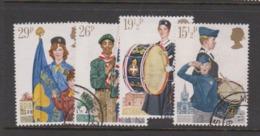 Great Britain SG 1179-1182 1982 Youth Organitations,used - 1952-.... (Elizabeth II)