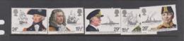 Great Britain SG 1187-1191 1982 Maritime Heritage,mint Never Hinged - 1952-.... (Elizabeth II)