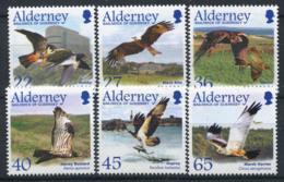Alderney 2002 Mi. 188-193 Neuf ** 100% Oiseaux - Alderney