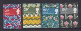 Great Britain SG 1192-1195 1982 British Textiles,mint Never Hinged - 1952-.... (Elizabeth II)