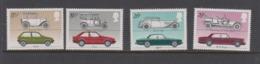 Great Britain SG 1198--1201 1982 Motor Cars,mint Never Hinged - 1952-.... (Elizabeth II)