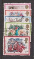 Great Britain SG 1202-1206 1982 Christmas,used - 1952-.... (Elizabeth II)