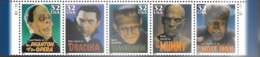 US  1997  Sc#3172a  32c Monsters  Strip Of 5  MNH  Face $1.60 - Estados Unidos