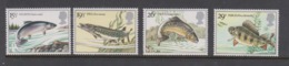 Great Britain SG 1207-1210 1983 British River Fishes,mint Never Hinged - 1952-.... (Elizabeth II)