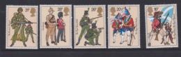 Great Britain SG 1218-1222 1983 Army Uniforms,mint Never Hinged - 1952-.... (Elizabeth II)