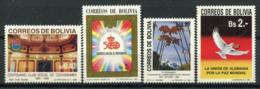 Bolivie 1990 Neuf ** 100% Culture, Nature, Paix - Bolivia