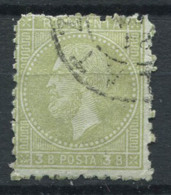 Roumanie 1872-1879 Oblitéré 80% 3 B, Prince Charles I - 1858-1880 Moldavia & Principado