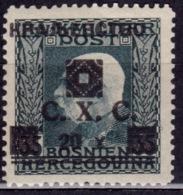 Yugoslavia KIngdom CXC,1919, Bosnia Issue, Overprint 20/35h, MNH - 1919-1929 Kingdom Of Serbs, Croats And Slovenes