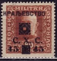 Yugoslavia KIngdom CXC,1919, Bosnia Issue, Overprint 45/80h, MNH - 1919-1929 Kingdom Of Serbs, Croats And Slovenes