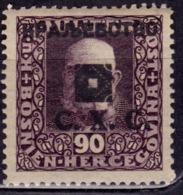 Yugoslavia KIngdom CXC,1919, Bosnia Issue, Overprint 90h, MNH - 1919-1929 Kingdom Of Serbs, Croats And Slovenes