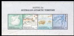 AAT, 2019 MAPPING ANTARCTICA MINISHEET MNH - Territorio Antártico Australiano (AAT)