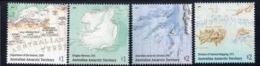 AAT, 2019 MAPPING ANTARCTICA 4 MNH - Australian Antarctic Territory (AAT)