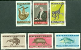 COLOMBIA 1960 ALEXANDER VON HUMBOLDT, WILDLIFE** (MNH) - Colombia