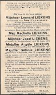 Kampenhout, Leonard Liekens, Coosemans - Images Religieuses