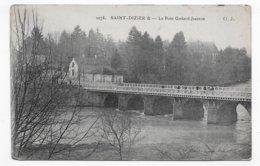 SAINT DIZIER EN 1916 - N° 1078 - LE PONT GODARD JEANSON - CPA VOYAGEE - Saint Dizier