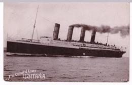 BATEAU PAQUEBOT(LUSITANIA) - Steamers