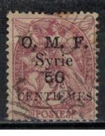 SYRIE              N°     YVERT    46       OBLITERE       ( Ob  5/35 ) - Oblitérés