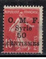SYRIE              N°     YVERT    58       OBLITERE       ( Ob  5/35 ) - Oblitérés