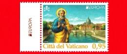 Nuovo - MNH - VATICANO - 2018 - Europa - S.Pietro E Ponte S.Angelo, A Roma - 0.95 - Unused Stamps