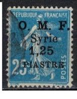 SYRIE              N°     YVERT    61       OBLITERE       ( Ob  5/35 ) - Oblitérés