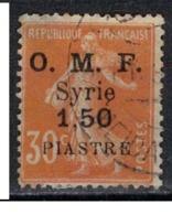 SYRIE              N°     YVERT    62       OBLITERE       ( Ob  5/35 ) - Oblitérés