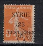 SYRIE              N°     YVERT   106    OBLITERE       ( Ob  5/35 ) - Oblitérés