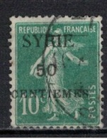 SYRIE              N°     YVERT   107    OBLITERE       ( Ob  5/35 ) - Syrien (1919-1945)