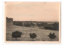 Vintage Real Photograph Of Old Steel Bridge Across The Yamuna , Behind The Red Fort , Delhi , Lot # SC 221 - Ponts