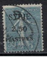 SYRIE              N°     YVERT   113    OBLITERE       ( Ob  5/35 ) - Oblitérés
