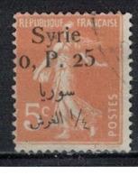 SYRIE              N°     YVERT   127    OBLITERE       ( Ob  5/35 ) - Oblitérés
