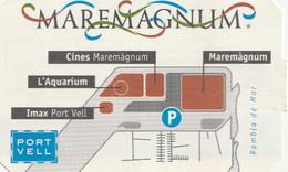 TICKET - ENTRADA / MAREMAGNUM - PARKING 1995 - Tickets - Entradas