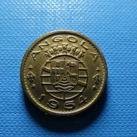 Portuguese Angola 50 Centavos 1954 - Portugal