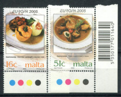 Malte 2005 Mi. 1398-1399 Neuf ** 100% Gastronomie - Malte