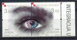 Croatie (Hrvatska) 2006 Mi. 772-773 Neuf ** 100% Eyes, Europe CEPT - Kroatië