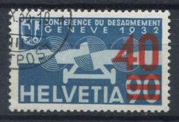 Suisse 1936 Mi. 293 Oblitéré 100% Poste Aérienne 40 C Sur 90 - Luchtpostzegels
