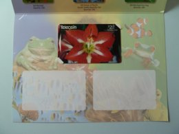 New Zealand - GPT - Amaryllis - $2 - 1996 - PhoneCard PLUS - Issue 1 - 750ex - Mint In Folder - New Zealand