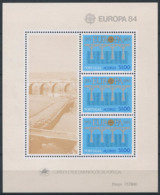 Portugal Açores 1984 Mi. Bl. 5 Bloc Feuillet 100% Neuf ** EUROPA CEPT - Europa-CEPT