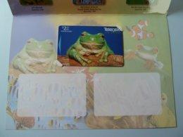 New Zealand - GPT - Tree Frog - NZ-P-112 - $2 - 1997 - PhoneCard PLUS - Issue 1 - 750ex - Mint In Folder - New Zealand