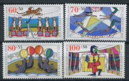 Berlin 1989 Mi. 838-841 Neuf ** 100% Jeunesse, Cirque - [5] Berlin