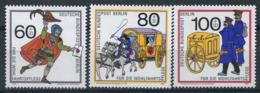 Berlin 1989 Mi. 852-854 Neuf ** 100% Transport Postal - [5] Berlín