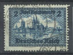 Empire Allemand 1930 Mi. 440 Oblitéré 100% 2 M, Monument - Gebruikt