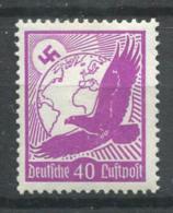 Empire Allemand 1934 Mi. 534 Neuf ** 100% Poste Aérienne 40 Pf, Aigle - Aéreo
