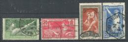 France 1924 Yv. 183-186 Oblitéré 100% Jeux Olympiques, Paris - Ongebruikt