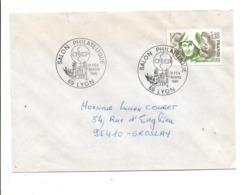 OBLITERATION SALON PHILATELIQUE CNEP à LYON 1981 - Marcophilie (Lettres)