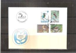 Oiseaux Menacés - FDC Luxembourg 1993 - Série Complète (à Voir) - Oiseaux