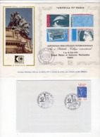 Enveloppes 1er Jour Bloc N° 7 Et Enveloppe Timbre N° 2421 - France