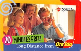 Long Distance From Oreida By Sprint - Advertising