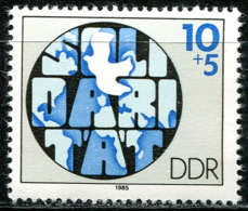 DDR -Mi 2950 - ** Postfrisch (C) - 10+5Pf     Solidarität - [6] Oost-Duitsland